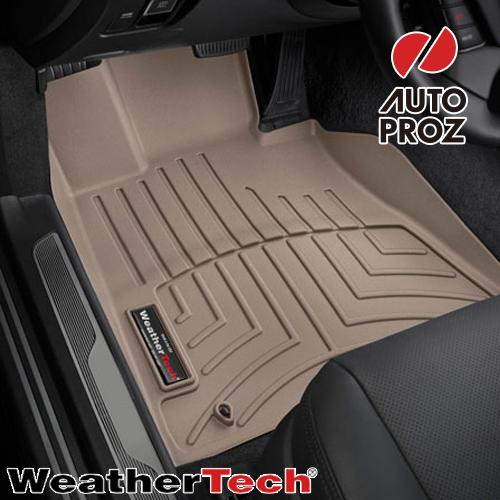 [Weathertech 正規品] フォード フレックス 2009年式以降現行 フロアマット/フロアライナー 1列目 左ハンドル用 タン
