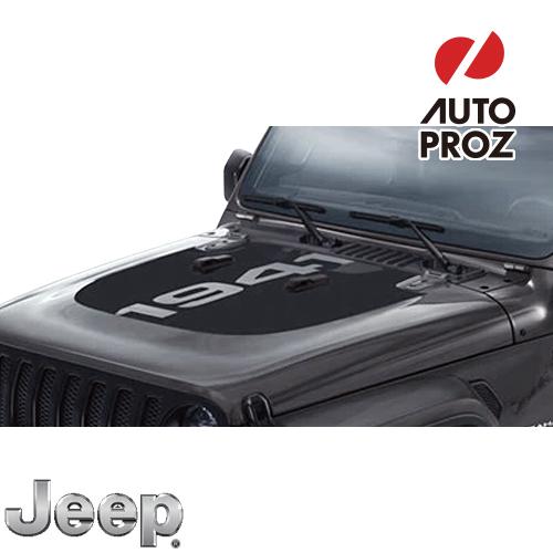 [Jeep/MOPAR 純正品] JLラングラー ボンネット 1941デカール