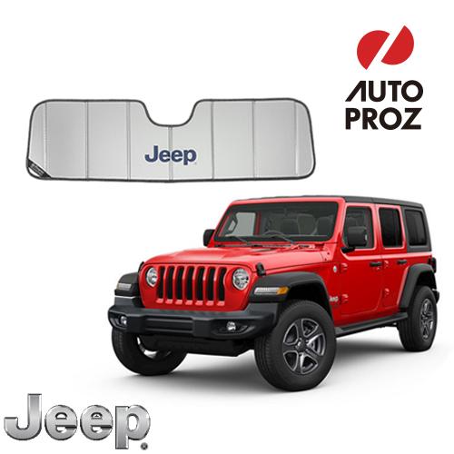 [Jeep/MOPAR 純正品] JLラングラー フロントサンシェード