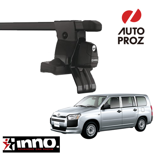 [INNO 正規品] トヨタ プロボックス/サクシード 2002年以降現行 ベースラックセット
