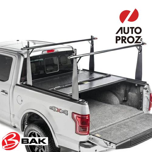 [BAKFlip 正規品] BAKFlip CS/F1 トノカバー トヨタ タコマ 2005-15年式 トラックシステム付き車に適合 5フィートベッド用 トラックラック付きトノカバー