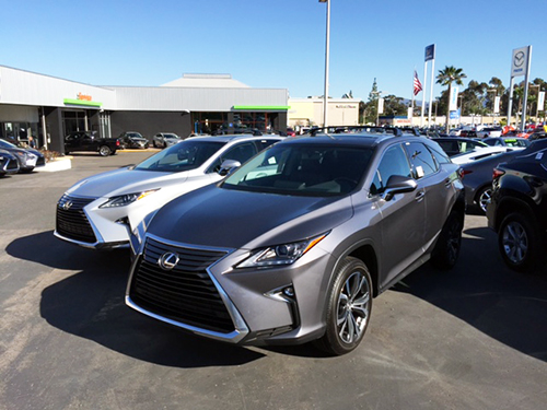 Lexus Lexus New RX350/RX450H 2016 Model Year Or Later (0/2016 Onwards