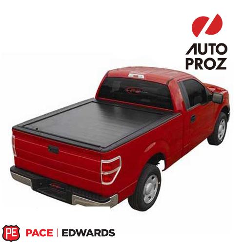 【US直輸入正規品】PACE EDWARDS (ペースエドワーズ) Jack Rabbit トノカバー Ford (フォード) F-Series Light Duty & 2004 Heritage (F-シリーズ ライトデュテイー) ロングベッド 8フィート用 1966-1996年