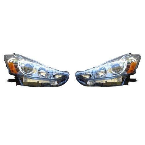 【USトヨタ 直輸入純正品】TOYOTA PriusV プリウスV(Priusα プリウスα)後期型ヘッドライト左右セット※ハロゲンタイプ