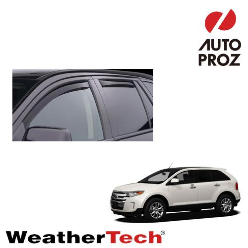 [WeatherTech 正規品] Lincolnリンカーン MKX 2007-2013年 Ford Edgeフォード エッジ 2007-2012年 ウィンドウディフレクター サイドバイザー/ドアバイザー