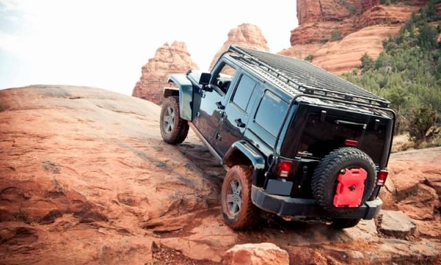 "Baja Rack Bachrach JEEP Jeep JK Wrangler JK Wrangler 4-door 2007 model year and later present ""UTility Flat Rack"" utility flat track (roof racks and roof basket)"