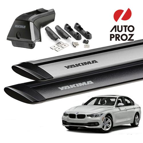[YAKIMA 正規品] BMW 3シリーズ グランツーリスモ F34型 フィックスポイント付き車両に適合 (スカイラインタワー・ランディングパッド11×2・ジェットストリームバーS)