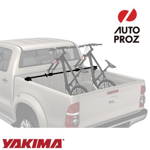 [YAKIMA 正規品] バイカーバー クロスバー+自転車前輪固定キット ミドルサイズトラック用 ※自転車2台分