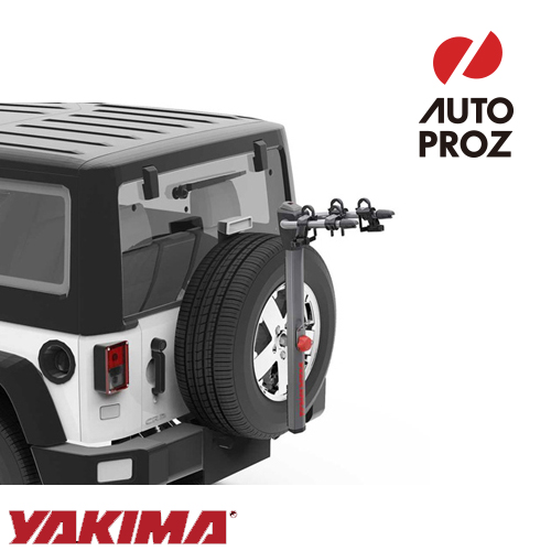 [YAKIMA 正規品] スペアライド 2台積載 ※背面スペアタイヤ部取付バイクラック