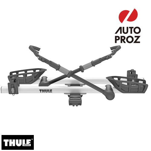 [THULE 正規品] T2 Pro XT 2 Bike ヒッチサイクルキャリア 2インチヒッチ角用 シルバー