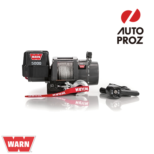 [WARN 正規品] 5000DCシリーズ 12V 電動ウインチ CE