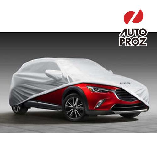 【USマツダ 直輸入純正品】Mazda CX-3 2015年 (平成27年式) 以降現行防水ボディーカバー※グレー