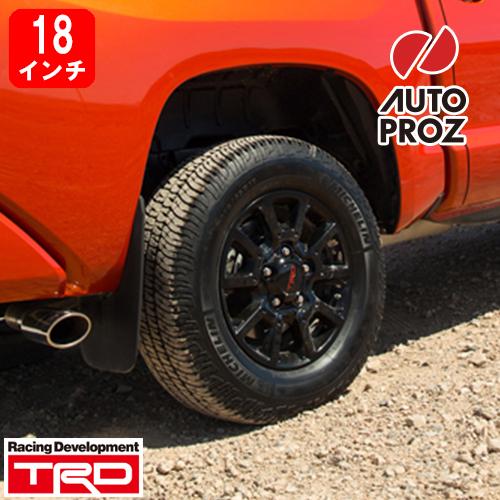 [USトヨタ 直輸入純正品]TOYOTA Tundra タンドラ Sequoia セコイア ランドクルーザー TRD Proシリーズ18インチホイール グロスブラック ホイール1本