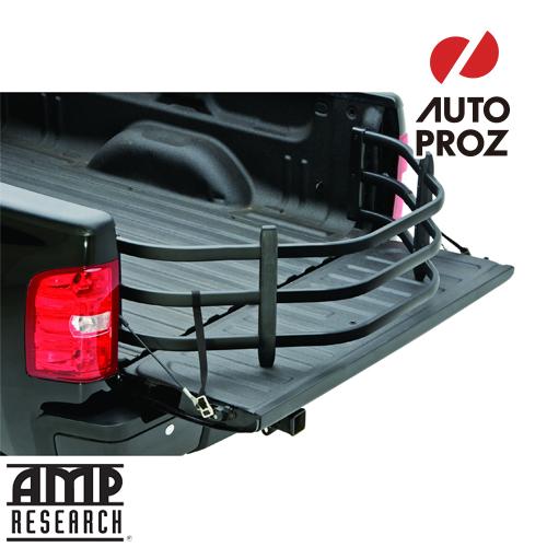 [AMP Research 正規品] シボレー シルバラード 1500 2019年式以降現行 ベッドエクステンダー HD SPORT ブラック