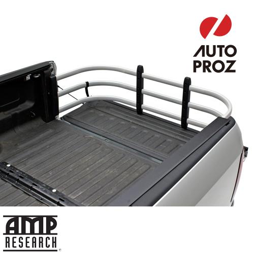 [AMP Research 正規品] シボレー シルバラード 1500 スタンダードベッド 2019年式以降現行 ベッドエクステンダー HD MAX シルバー