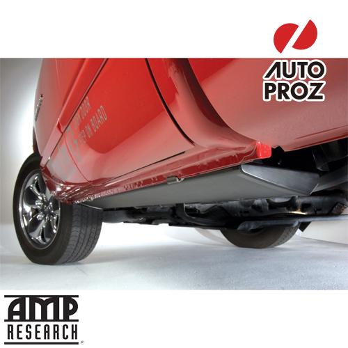 [AMP Research 正規品] シボレー シルバラード GMシエラ 1500 2019年式以降現行 ベッドステップ2 ショートベッド用 ボックスアクセス サイドステップ