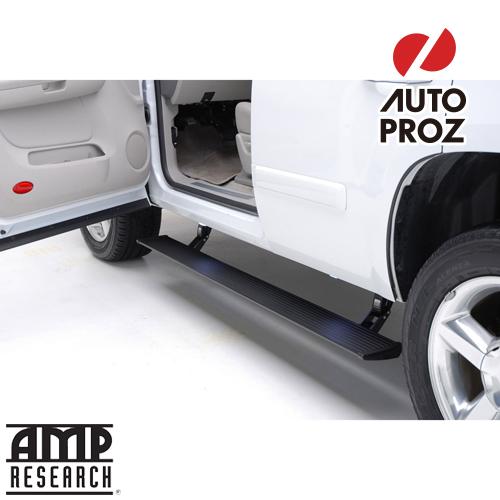 [AMP Research 正規品] フォード エクスペディション MAXリミテッド 2018-2018年式 ガソリン車のみ 電動パワーステップ プラグ&プレイ
