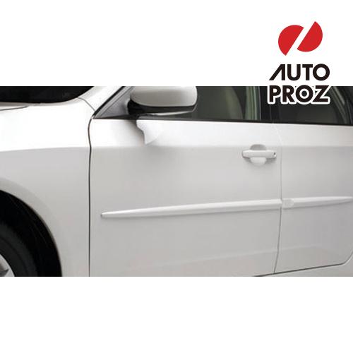 [USスバル 純正品] SUBARU Impreza WRXインプレッサ WRX2007-2011年式ボディサイドモールディング(サイドガーニッシュ/ドアモール) ダークグレーメタリック(EN)