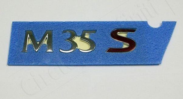 【USインフィニティ直輸入正規品】インフィニティM35S エンブレム