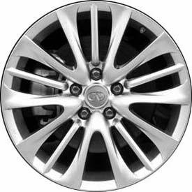 【Infiniti 直輸入純正品】インフィニティ Mシリーズ2011-2012年式(日産 FUGA/フーガ)18インチアルミホイール5スポークスプリットタイプ※1本