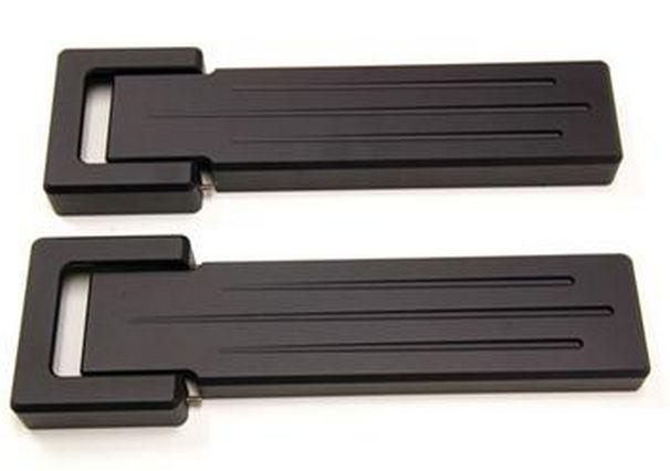 【AMI 直輸入正規品】ビレットテールゲートヒンジカバー(ブラック)4ピース1セットJEEP ジープJK Wrangler JKラングラー2ドア/4ドア 2007年式以降 現行