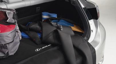 【USレクサス 直輸入純正品】レクサス CT200h2011年式以降カーペットカーゴマット(ラゲッジマット カーゴトレー トランクマット)ブラック