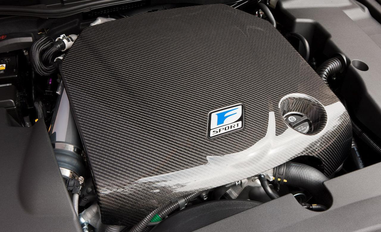 렉서 스 GS460/GS350 2007 ~ 2011 년 식 IS250/IS350 2006 년 이후 F-Sport 탄소 섬유 엔진 커버