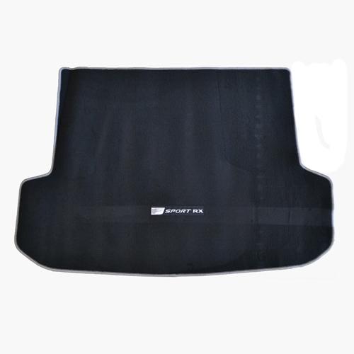[USレクサス 直輸入純正品]レクサス RX450h/RX200t 20系2016年式以降現行(平成28年式以降)カーペットカーゴマットFスポーツロゴ入り シルバーステッチ ブラック