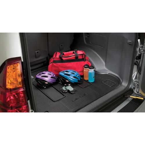 【USレクサス 直輸入純正品】Lexus レクサスGX470 2005-2009年カーゴトレイ カーゴマット(ラゲッジ用ラバーマット/カーゴトレー/トランクマット)※ダークグレー