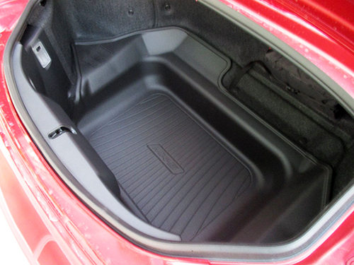 Mazda Roadster Roadster 2016 (0/2016 type) ND type to fit North American name MX-5 logo with cargo tray (cargo mat, cargo liner cargo tree and trunk mats)