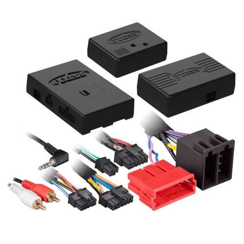 [METRA 正規品] AXXESS/アクセス ポルシェ 911/ボクスター/カイエン 2004-2009年式 MOST25 アンプリファイア搭載車 SWCリテンション