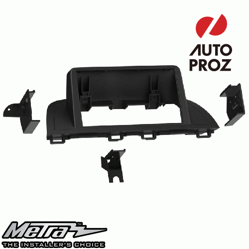 [METRA 正規品] マツダ Mazda3 アクセラ BM/BY型 2013-2019年 ダブルDIN オーディオ取り付けキット/ダッシュキット マットブラック