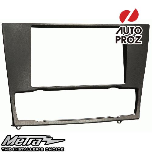 [METRA 正規品] BMW 3シリーズ ナビなし車両 2006-2013年 ダブルDIN オーディオ取り付けキット/ダッシュキット