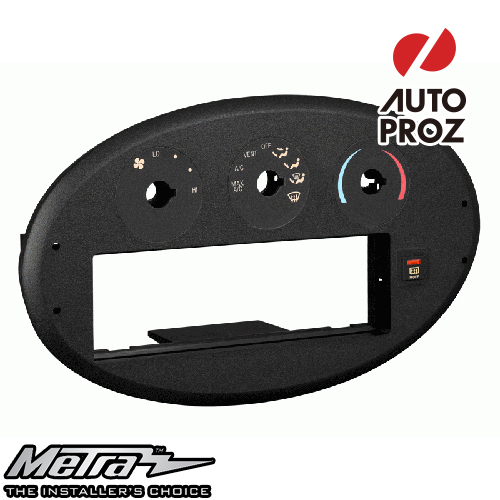 [METRA 正規品] フォード トーラス マーキュリー セーブル Electronic Clime Controlなし車両 1996-1999年 オーディオ取り付けキット/ダッシュキット