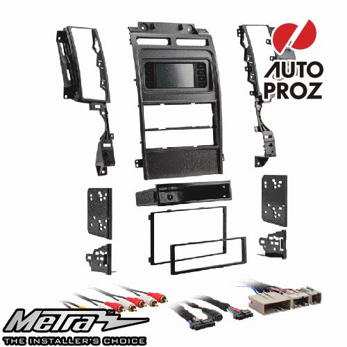 [METRA 正規品] フォード トーラス 2010-2012年 シングルDIN/ダブルDIN オーディオ取り付けキット/ダッシュキット シルバー