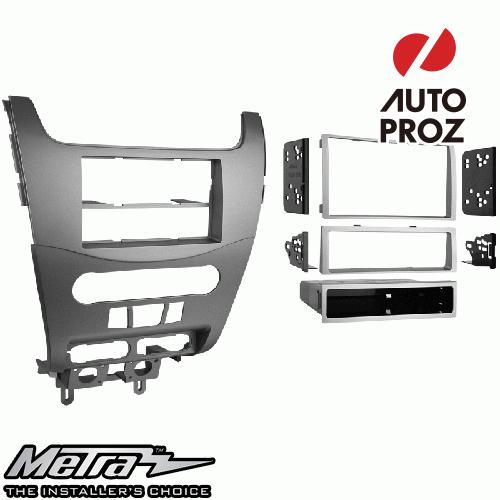 [METRA 正規品] フォード フォーカス 2008-2011年 シングルDIN/ダブルDIN オーディオ取り付けキット/ダッシュキット シルバー