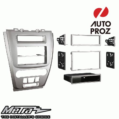 [METRA 正規品] フォード フュージョン マーキュリー Milan 2010-2012年 シングルDIN オーディオ取り付けキット/ダッシュキット シルバー