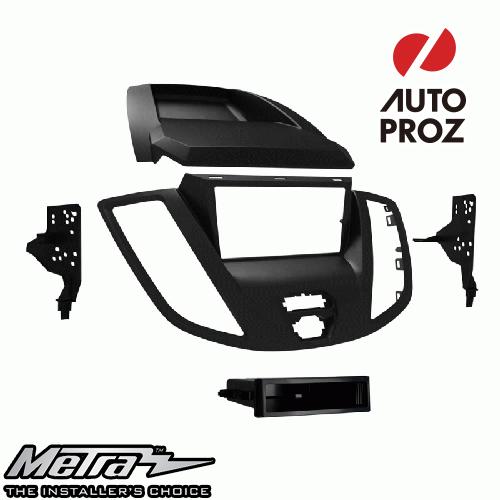 [METRA 正規品] フォード トランジット 2015年以降現行 シングルDIN/ダブルDIN オーディオ取り付けキット/ダッシュキット グレー