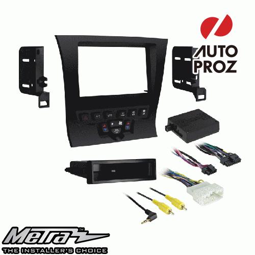 METRA 正規品 クライスラー 300 2011-2014年 シングルDIN/ダブルDIN オーディオ取り付けキット/ダッシュキット マットブラック
