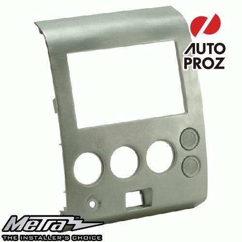 [METRA 正規品] 日産 タイタン 2004-2007年 アルマダ 2004-2005年 シングルDIN オーディオ取り付けキット/ダッシュキット