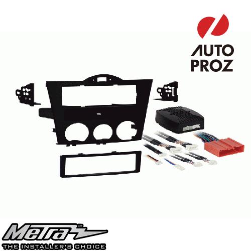 METRA 正規品 マツダ RX-8 2004-2008年 シングルDIN オーディオ取り付けキット/ダッシュキット ブラック