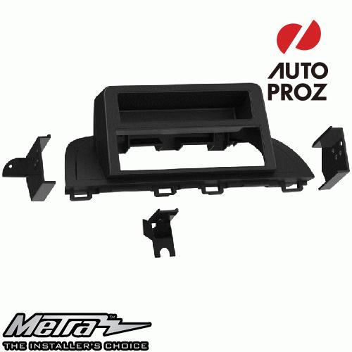 [METRA 正規品] マツダ Mazda3 アクセラ BM/BY型 2013-2019年 シングルDIN オーディオ取り付けキット/ダッシュキット マットブラック