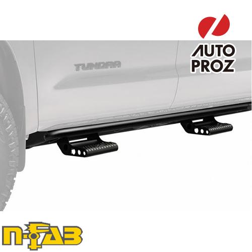 [n-Fab 正規品] シボレー/GMC 1500 クルーキャブ 2014-2019年 ガソリン SRW RKRステップシステム