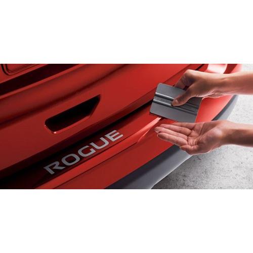 【US日産 直輸入純正品】X-Trail エクストレイル T32型Rogue ローグ2013年式以降現行リアバンパープロテクター(リアバンパーステップガード/リアバンパーガード)※クリア