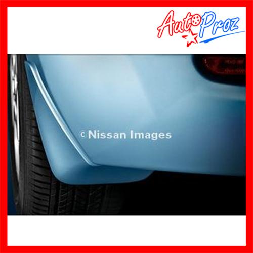 【US日産直輸入純正品】Nissan LEAF リーフ 2010年式以降 現行(平成22年式以降)マッドガード/スプラッシュガード(泥除け) ※フロント リア4ピース