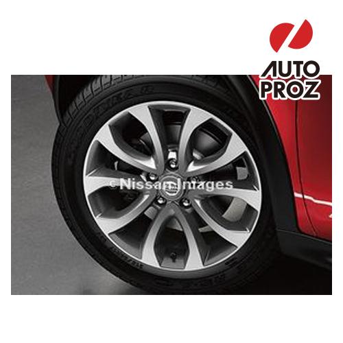 【US日産直輸入純正品】Nissan Juke 日産 ジューク2010年式以降 現行(平成22年式以降)17インチ アルミホイール(ガンメタ)※ホイール4本セット