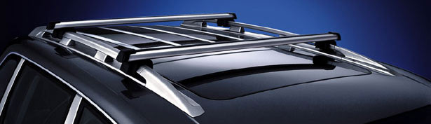 【Porsche 直輸入純正品】ポルシェ Cayenne カイエン2003 - 2010年式適合ルーフトップ クロスバー