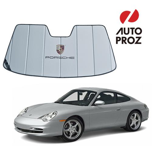 【エントリーで最大P5倍】【USポルシェ 直輸入純正品】 PORSCHE 911カレラ 996型用 サンシェード/車用サンシェイド