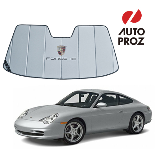 【USポルシェ 直輸入純正品】 PORSCHE 911カレラ 996型用 サンシェード/車用サンシェイド