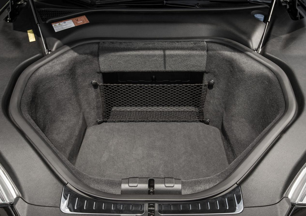 With The Tesla Model S Front Trunk Cargo Net